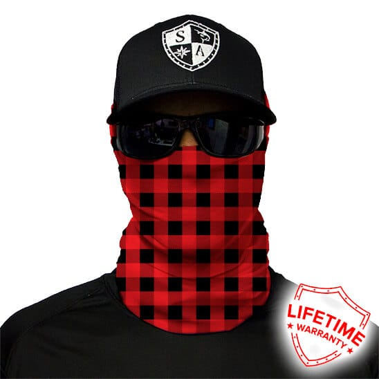 БАФФ/БАНДАНА S.A. COMPANY LUMBERJACK RED PLAID