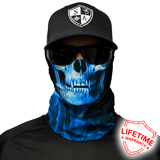 Бафф/Бандана с черепом S.A. Company SKULL TECH | BLUE CROW