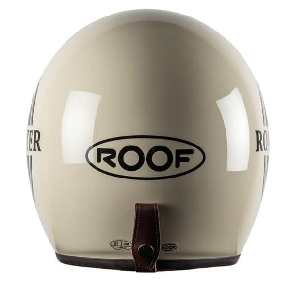 Открытый мотошлем ROOF Roadster Liberty Cream-Green
